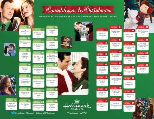 This image, courtesy of Hallmark, is the craziness that some of us experience with their Christmas movies.