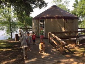 Petit Jean State Park Yurts