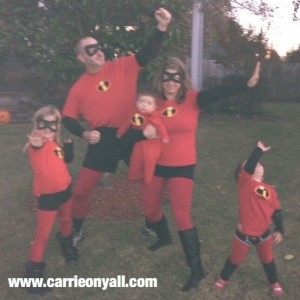 Why You Should Do a Family Halloween Costume