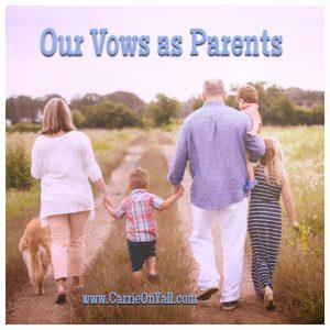 Our Vows as Parents