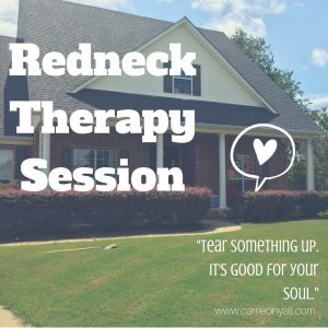 Carrie On Y'all's Redneck Therapy Session